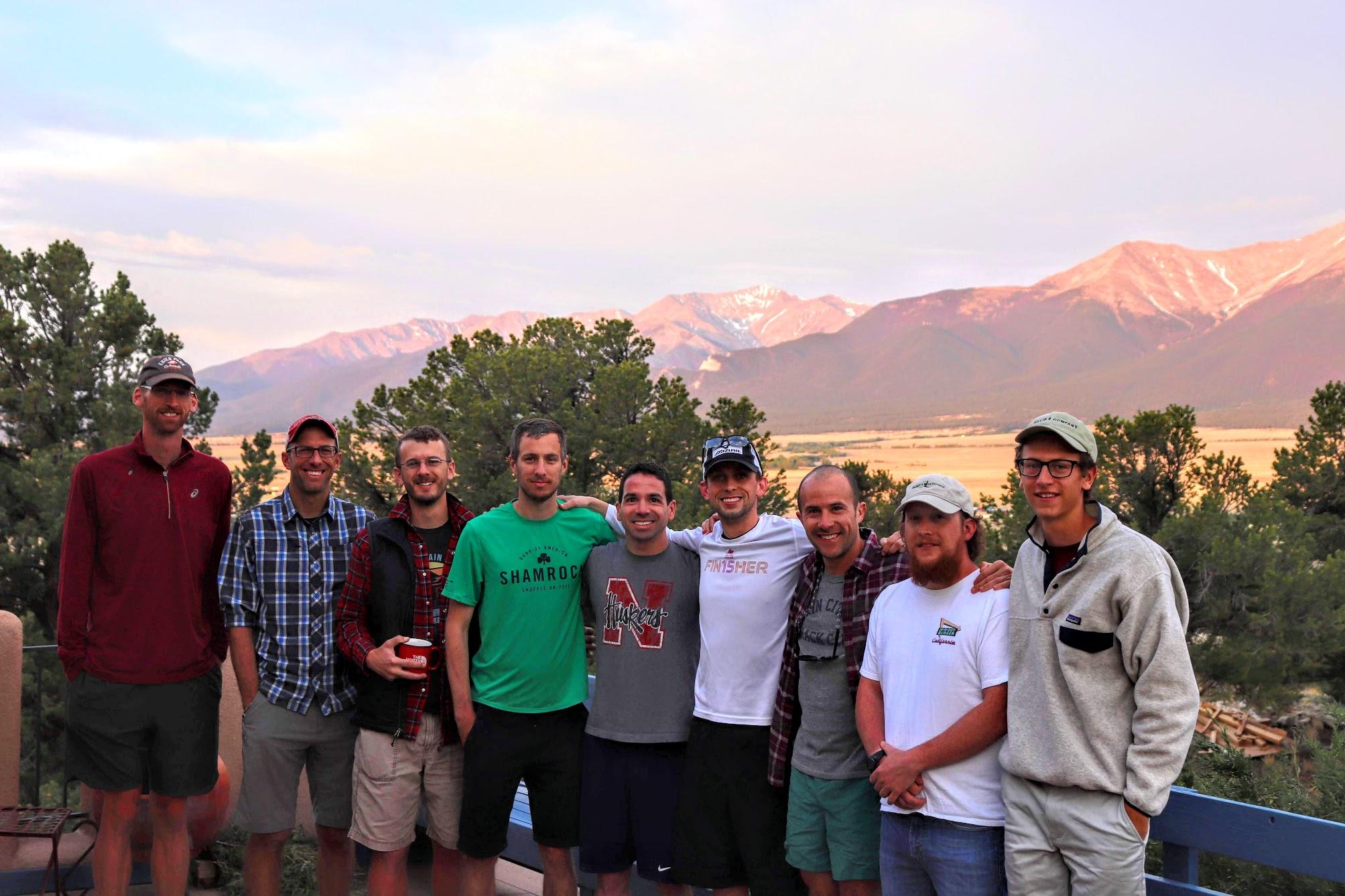 Some of the original LRC members.